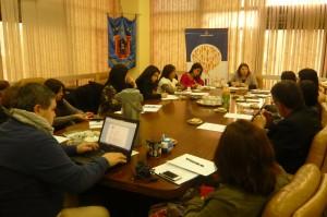 Fotografía reunión equipo INCLUDEC