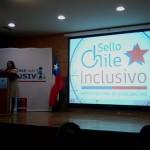 Imagen Includec asiste a lanzamiento de Sello Chile Inclusivo 2014