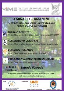 Imagen que muestra afiche de seminario permanente