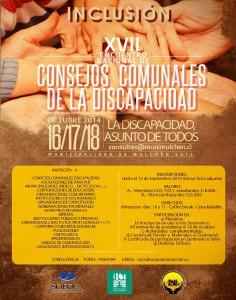 imagen que muestra afiche del encuentro nacional.