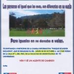 """Imagen Charla Proyecto """"Parque Ecuador Inclusivo"""""""