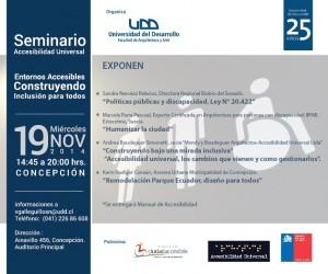 Imagen que muestra afiche de seminario.