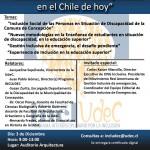 Imagen Seminario: Nuevos desafíos en discapacidad en el Chile de hoy.