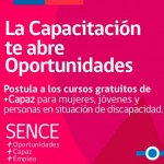 Imagen Abiertas postulaciones a cursos +Capaz 2016