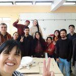 Imagen Estudiantes UdeC de Arquitectura aprenden sobre Accesibilidad Universal