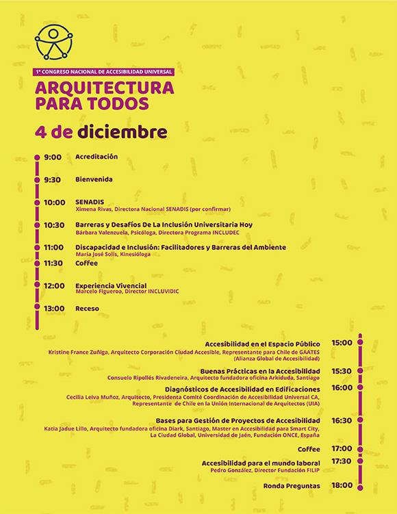 congreso accesibilidad universal 4 diciembre