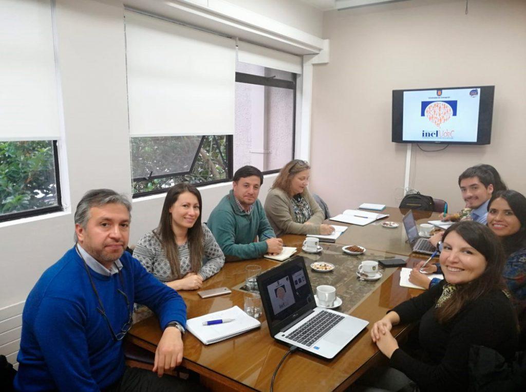 visita delegaciones de universidad Católica del Norte y de Temuco