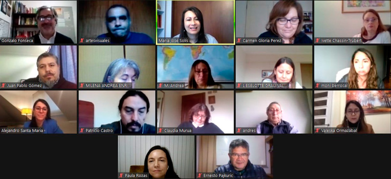 Imagen reunión ZOOM