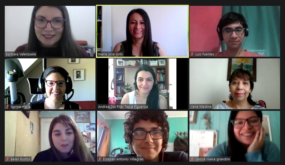 Imagen Reunión virtual por zoom proyecto FID